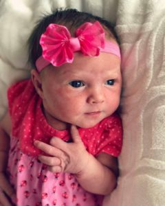 Cecile Danielle Chartier born to Robin and Gabrielle Chartier of the Allen Family