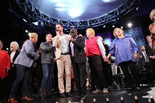 Gaither Vocal Band at NQC. Photo by Chip Woods
