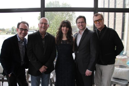 Pictured left to right: Andrew Ishee, Scott Newbert, Sherry Anne, Michael Booth and Landy Ewing