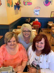 Joan Walker, Vonda Armstrong and Lorraine Walker