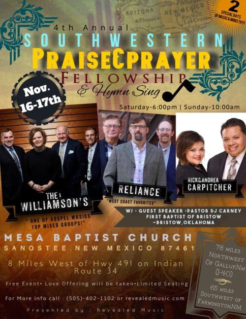 Southwestern Praise and Prayer