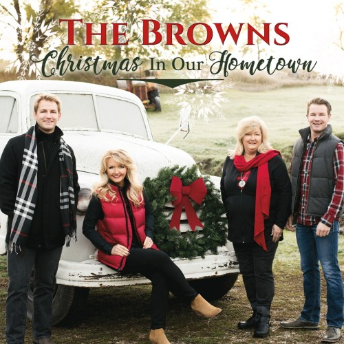 POPULAR FAMILY GROUP, THE BROWNS, RELEASE NEW CHRISTMAS RECORDING
