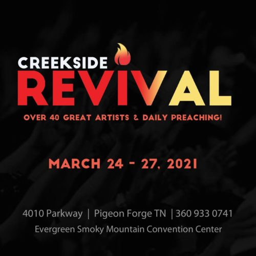 Creekside Revival Starts today!
