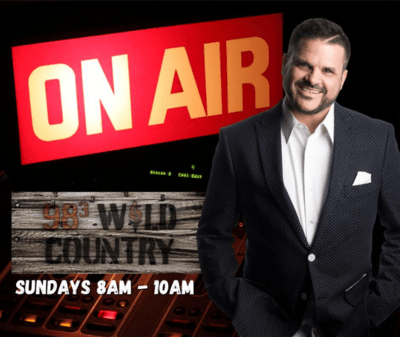 COMEDIAN MICKEY BELL BRINGS A LITTLE GOSPEL TO COUNTRY STATION, ALABAMA'S 98.3 WILD COUNTRY