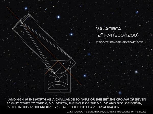 "Valacirca 12"" Dobson Teleskop"