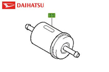 Genuine Fuel Filter Daihatsu 1997-2008 1.3 (85 bhp) Petrol