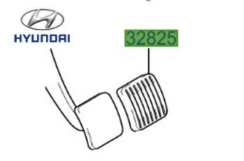 Genuine Brake Clutch Pedal Rubber Hyundai Getz 2006-2009 1