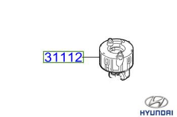 Genuine Fuel Filter Hyundai i10 2017-2020 1.0 (67 bhp) Petrol