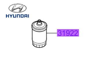Genuine Fuel Filter Hyundai i800 2009-2020 2.5 (134 bhp