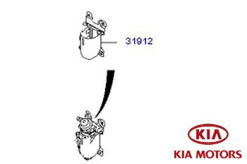 Genuine Fuel Filter Housing Kia Ceed SW 2009-2012 1.6 CRDi