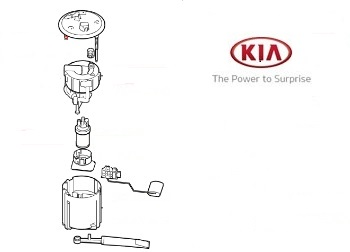 Genuine Fuel Pump and Gauge Assembly Kia Ceed 2012-2016 1