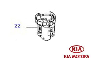 Genuine Fuel Filter Long Life Kia Rio 2005-2009 1.4 (95