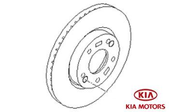 Genuine Brake Pad Set Front Kia Sportage 2010-2013 1.6 GDi