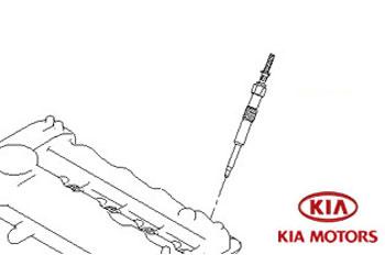 Genuine Glow Plug Kia Sportage 2010-2013 1.7 CRDi (114 bhp