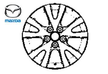 Genuine Alloy Wheel 18 x 8J Mazda RX8 2003-2010 1.3 (228