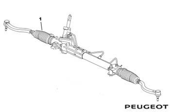 Genuine Steering Rack Peugeot 407 2004-2008 2.0 HDi (136