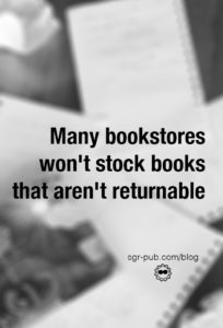 Many bookstores won't accept books that aren't returnable. You can only make books returnable at IngramSpark, and IngramSpark requires a Bowker-provided ISBN.