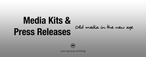 Author Media Kits and Press Releases: Old media in the new age