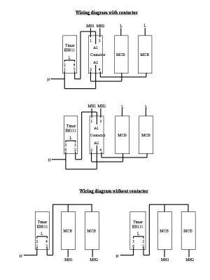 Hager timer wiring diagram – Industrial electronic ponents