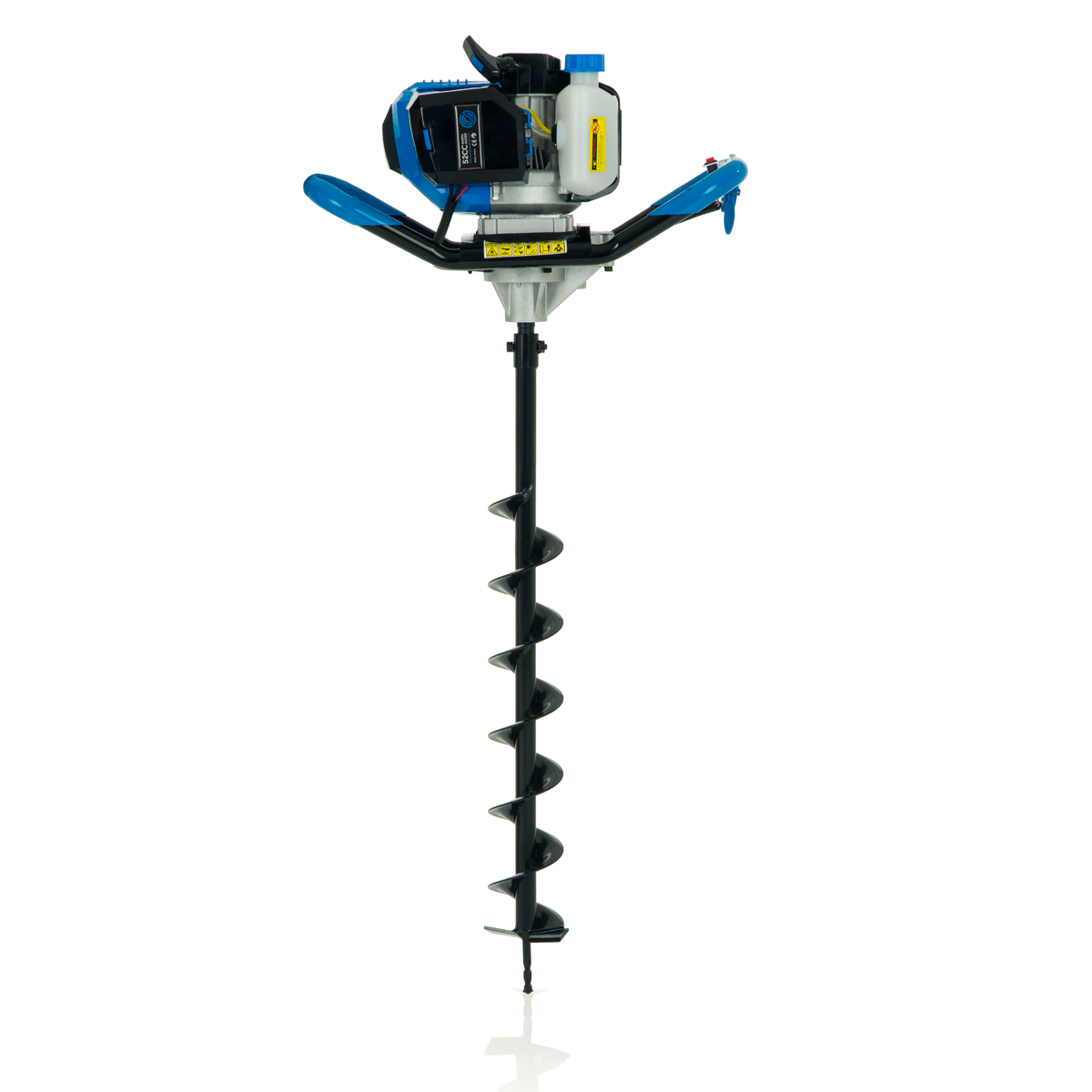 52cc Petrol Earth Auger Fence Post Hole Borer Ground Drill