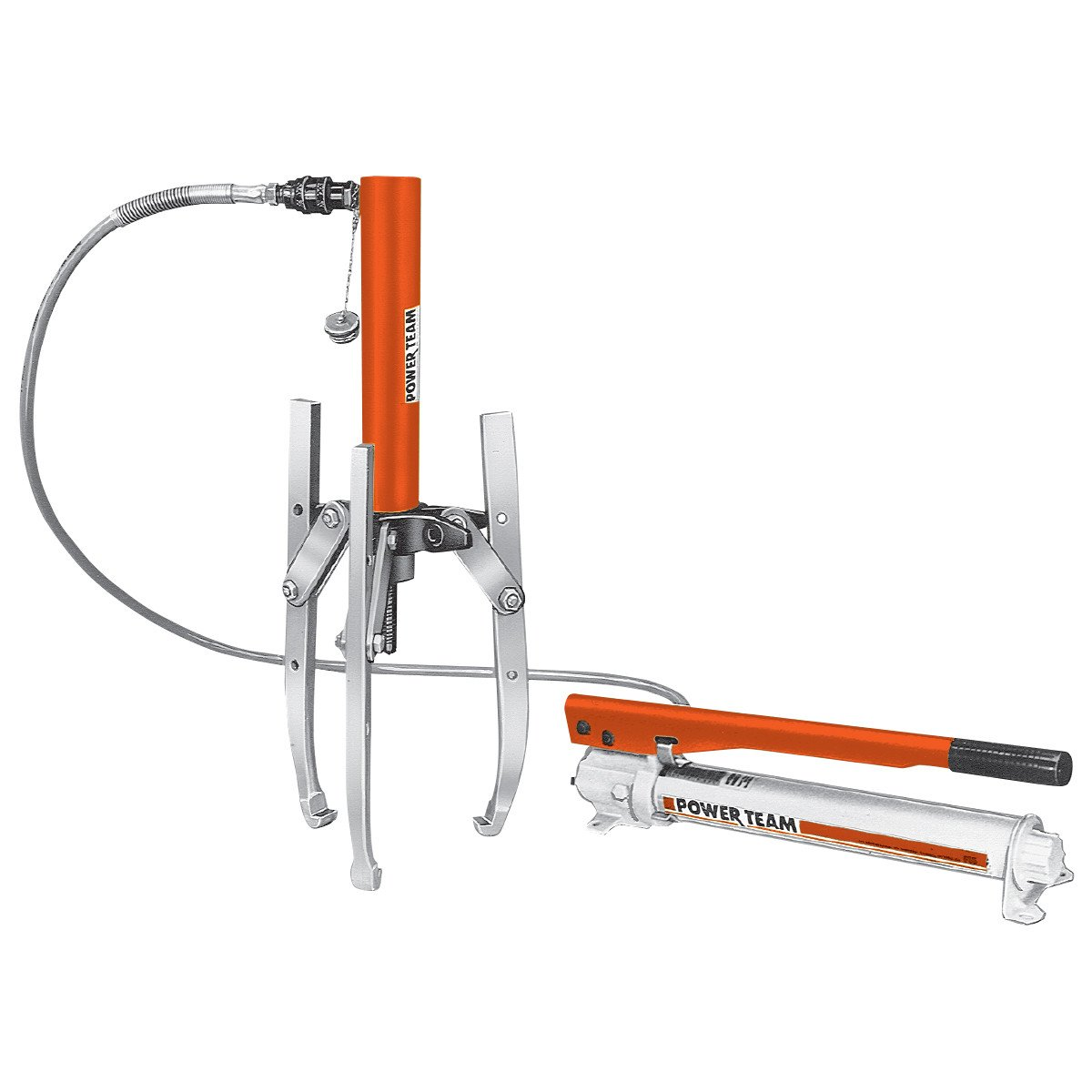 10 Ton Combination 2-jaw/3-jaw Hydraulic Puller Set