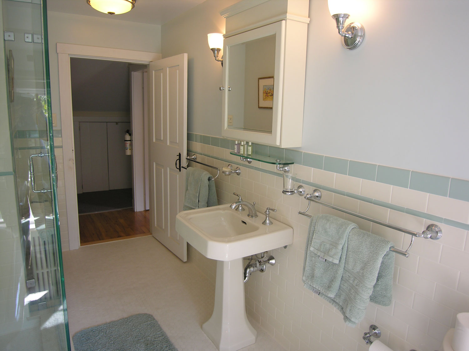 SGS Interiors  Historical home gets a bathroom remodel