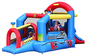 Choo Choo Train Jumping Castle (BC013)