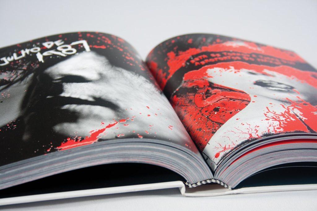Diagramação da biografia de Nikki Sixx