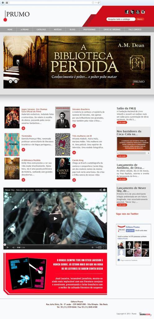 Site Editora Prumo