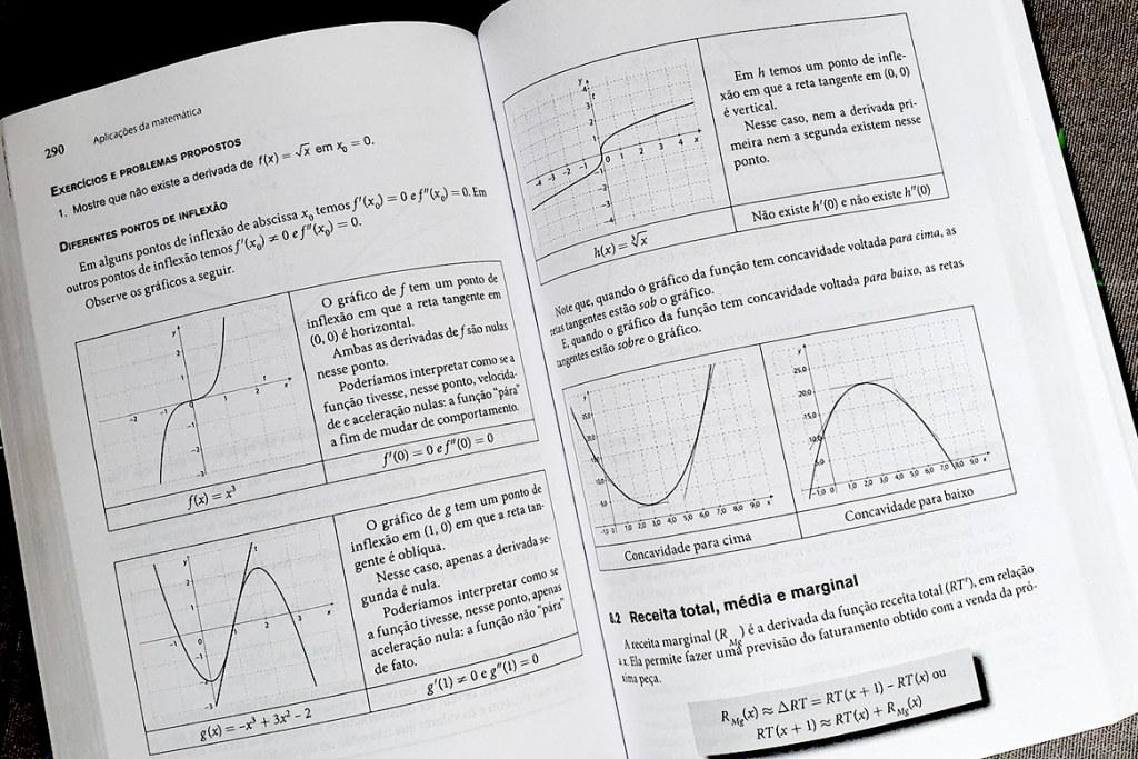 Diagramação do livro Aplicações da Matemática, Editora Cengage Learning