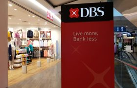 DBS share price