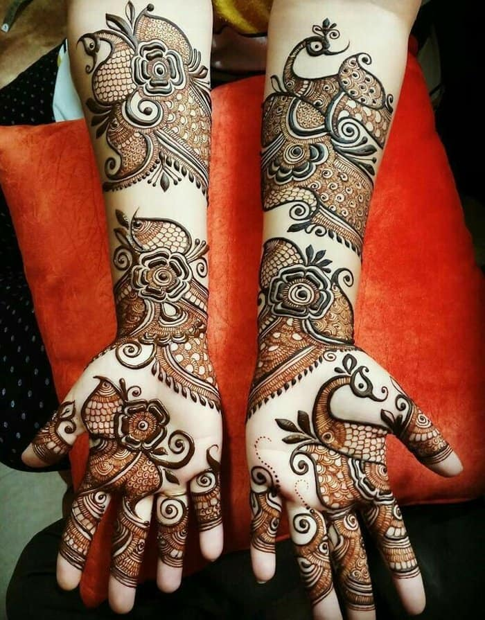 Arabic Mehndi Designs For Full Hands Simple And Easy