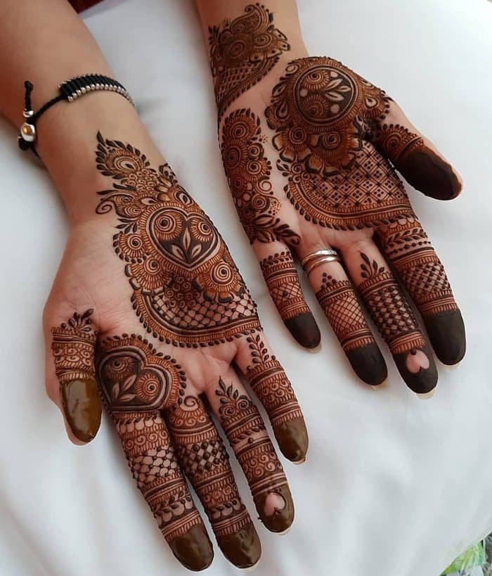 Mehandi Designs For Hands Arabic