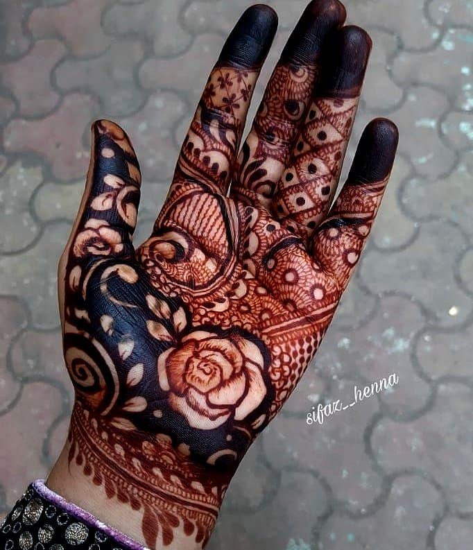 Mehndi Design Arabic