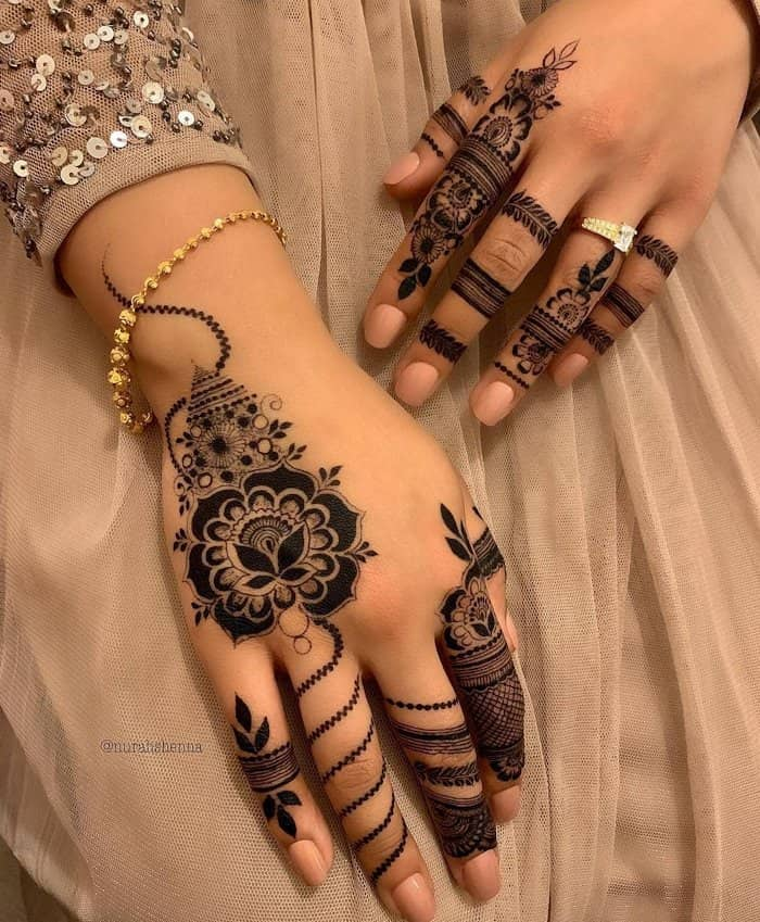 Mehndi Design Arabic New