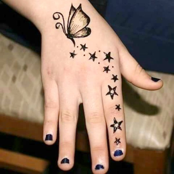 Simple Mehandi Design Images