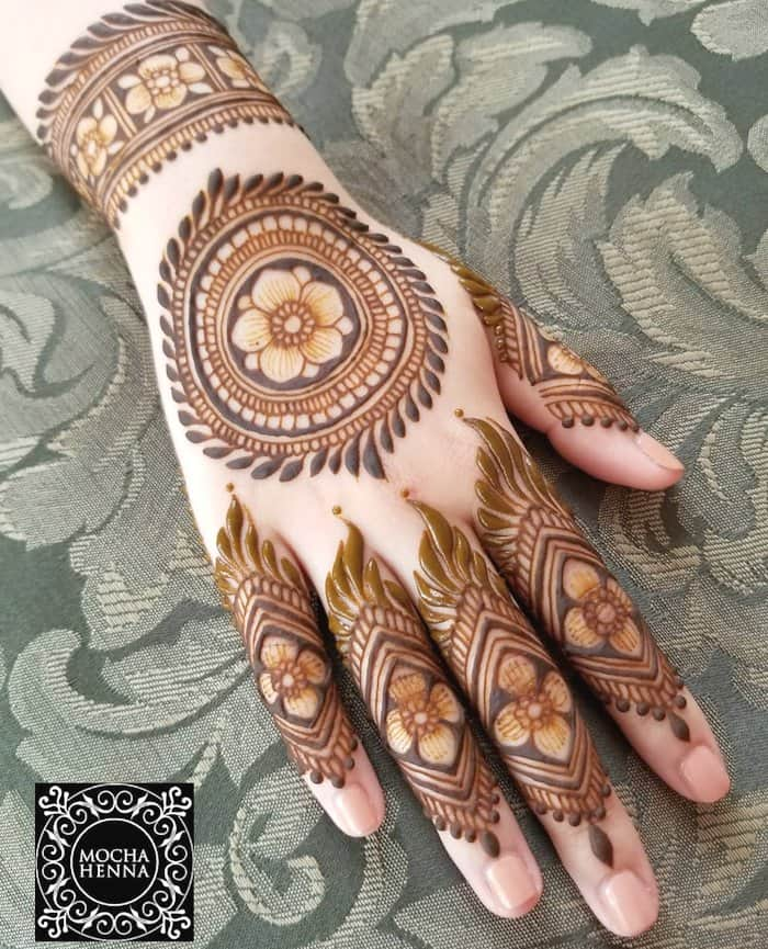 Mehndi Design Arabic Latest 2019