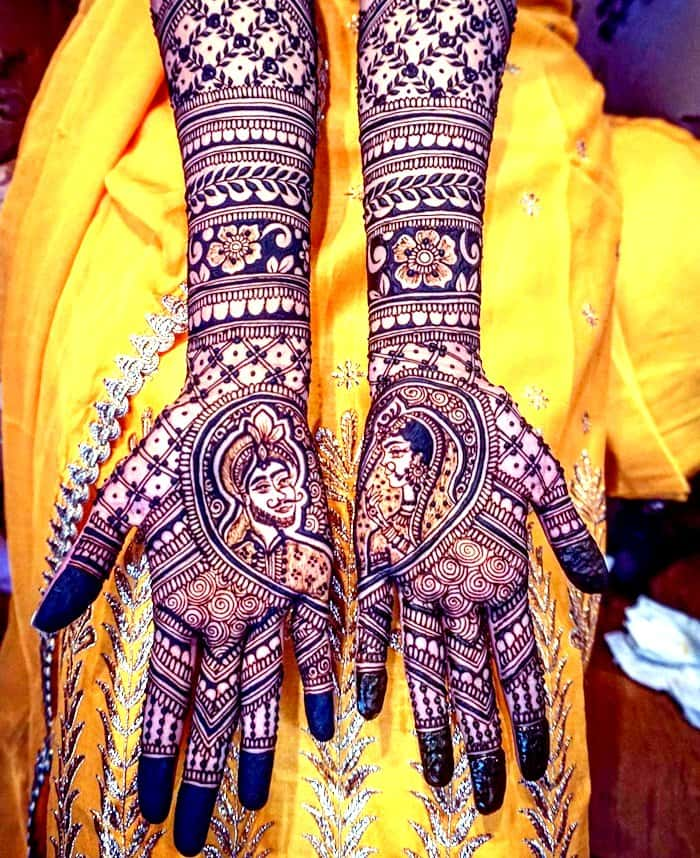 New Simple Bridal Mehndi Designs 2019