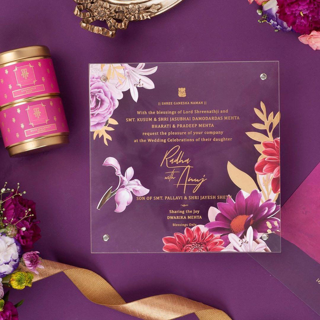 10 exclusive indian wedding invitation