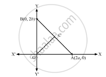 In Fig. 14.36, a Right Triangle Boa is Given C is the Mid