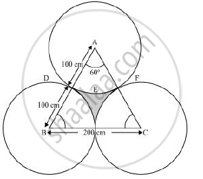 The area of an equilateral triangle ABC is 17320.5 cm2