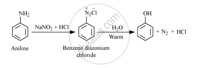 How Do You Convert the Following : Aniline to Phenol