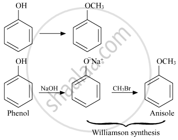 How Do You Convert the Following : Phenol to Anisole