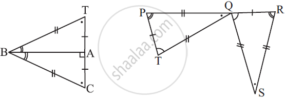 Solution for Complete the Congruence Statement: Triangle