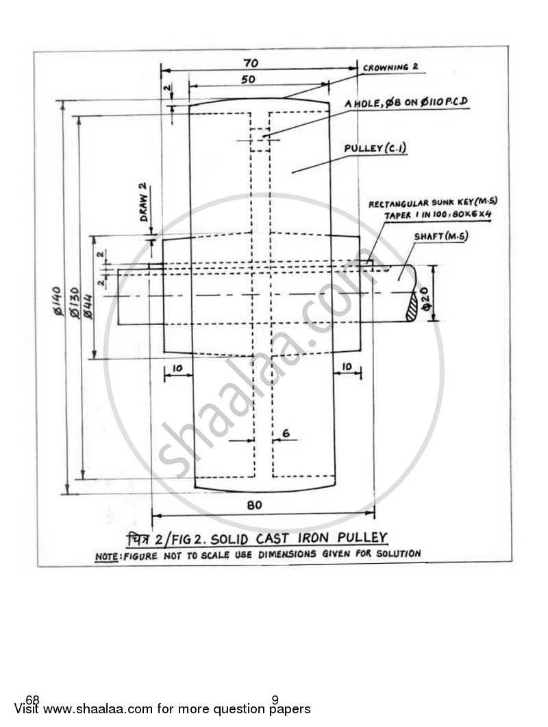 Engineering Graphics 2018-2019 CBSE (Commerce) Class 12