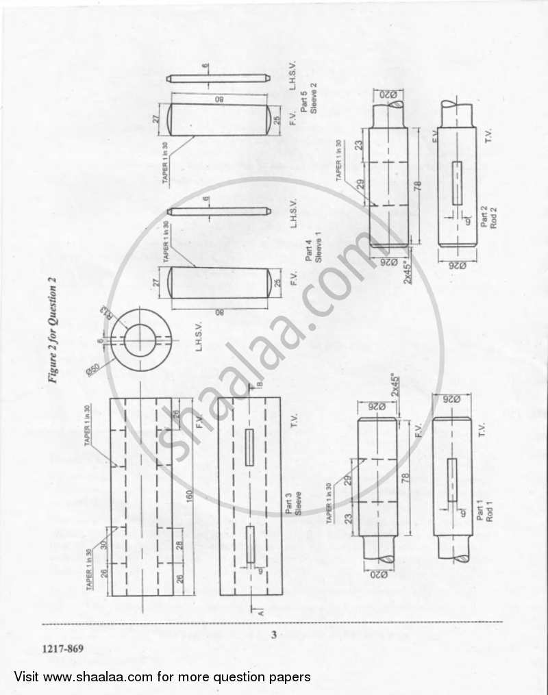 Geometrical and Mechanical Drawing 2016-2017 ISC (Commerce