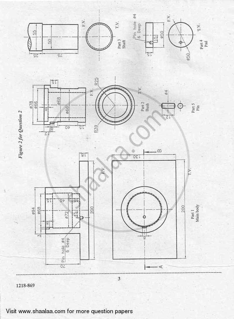 Geometrical and Mechanical Drawing 2017-2018 ISC (Arts