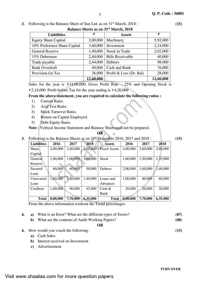 Auditing (Financial Accounting and Auditing 10) 2017-2018