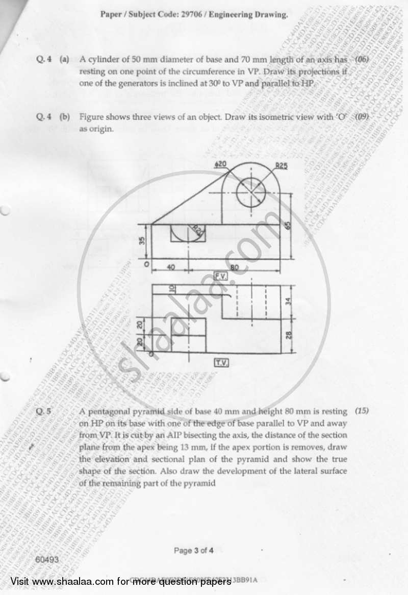 Engineering Drawing 2018-2019 BE Instrumentation