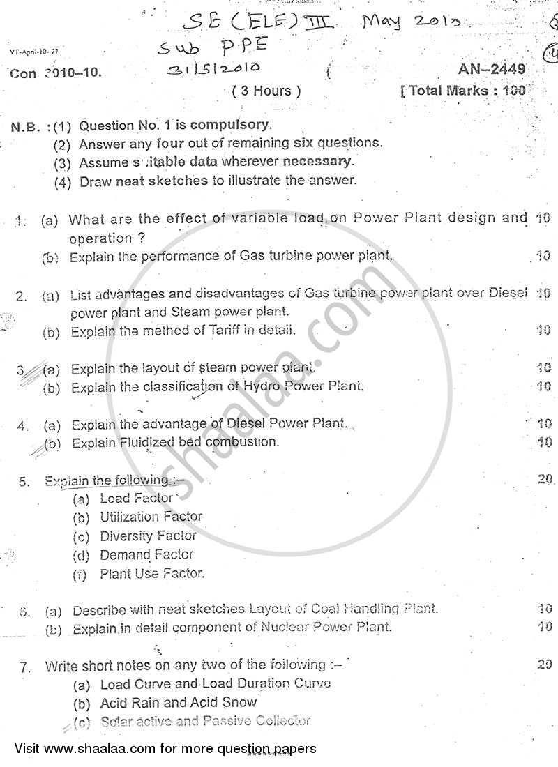 hight resolution of power plant engineering 2009 2010 b e semester 3 se second year